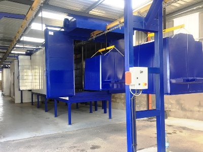 powder coating line automatic