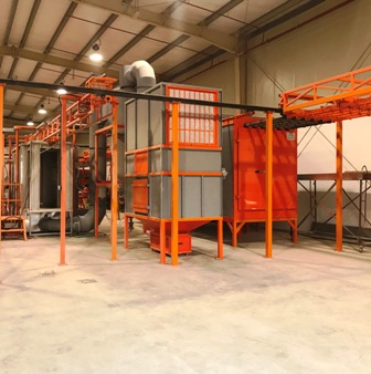 powder-coating-bar-transfer-system