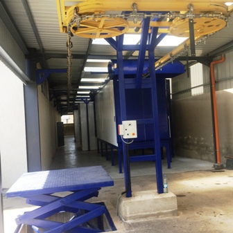 powder-coating-containers