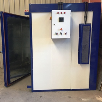 powder-coat-electric-oven