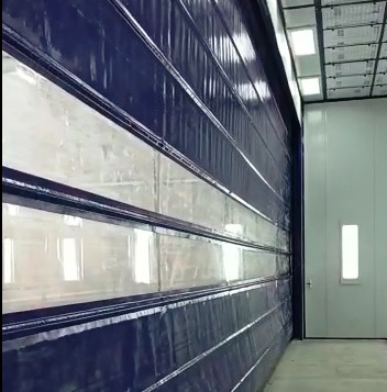 combined spraybooth